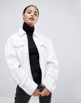 Asos Design Corset Detail Jacket