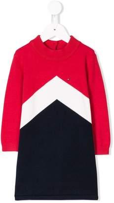 Tommy Hilfiger Junior colour block sweater dress