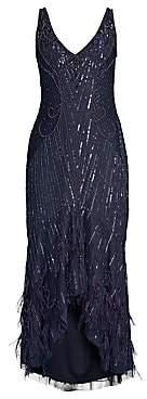 Parker Black Women's Embellished Sequin Sydney Midi Dress - Size 0