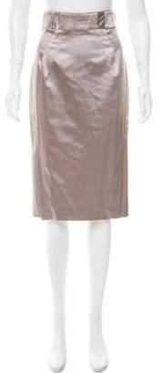 Zac Posen Satin Pencil Skirt w/ Tags