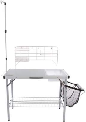 Stansport Outdoor Camp Kitchen with Lantern Pole