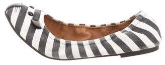 Marc by Marc Jacobs Striped Kitty Flats