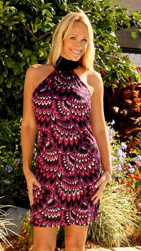 Trina Turk Metropolis Print Dress