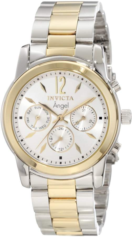 Invicta Women's Angel Dial Two Tone Stainless Steel Watch 11735