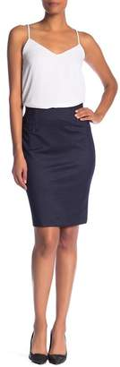 Amanda & Chelsea Denim Ponte Pull-On Skirt