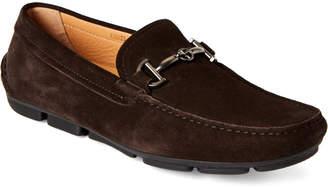 Giorgio Armani Slip-On Leather Loafers