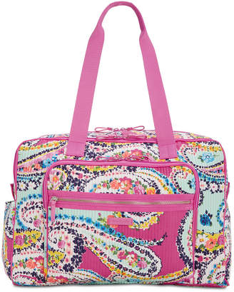 Vera Bradley Iconic Deluxe Extra-Large Weekender Travel Bag