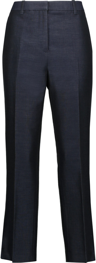 3.1 Phillip Lim 3.1 Phillip Lim Cropped cotton and silk-blend tapered pants