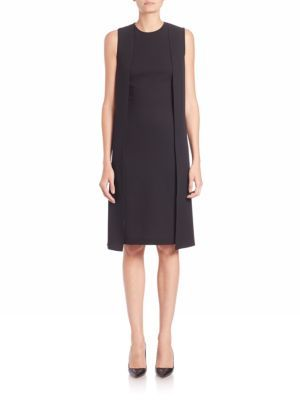 Ralph Lauren Collection Winifred Silk Cape Dress $2,190 thestylecure.com