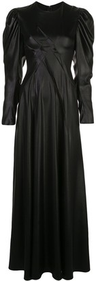 Sies Marjan satin maxi dress