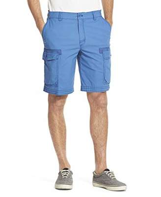 Izod Men's Pigment Dyed Stretch Cargo Short Pants