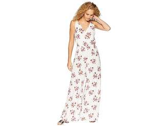 1 STATE 1.STATE Wildflower Wrap Front Jumpsuit w/ Slits