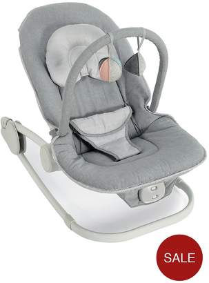 Mamas and Papas Wave Rocking Cradle - Grey