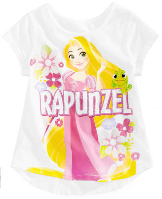 Disney Little Girls Rapunzel Cotton T-Shirt