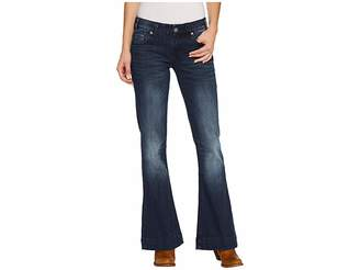 Rock and Roll Cowgirl Trousers in Dark Vintage W8-3405 Women's Jeans