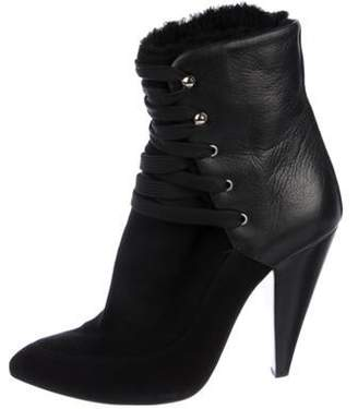 IRO Suede Ankle Boots Black Suede Ankle Boots