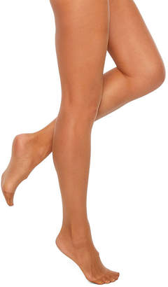 Sheer Caress Sheerest Support Control Top - Reinforced Toe Pantyhose-Plus