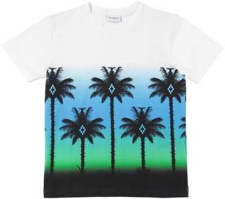 Marcelo Burlon County of Milan Printed Cotton Jersey T-Shirt