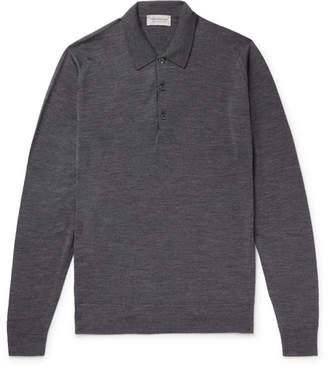 John Smedley Belper Slim-Fit Merino Wool Polo Shirt
