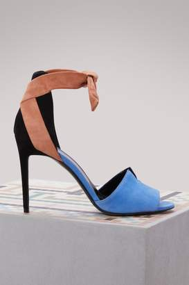 Pierre Hardy Secret suede sandals