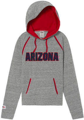 PINK University Of Arizona Bling Crossover Perfect Pullover
