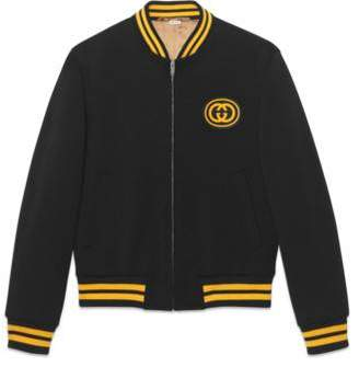Gucci Bomber jacket with Interlocking G