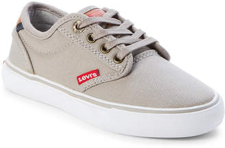 Levi's Toddler/Kids Boys) Grey Venice Low-Top Canvas Sneakers