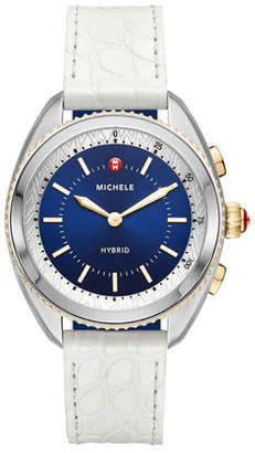 Michele 38mm Two-Tone Hybrid Smartwatch