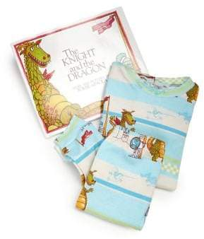 "Dragon Optical Toddler's & Little Boy's ""The Knight and the Pajamas & Book Set"