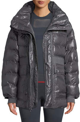 adidas by Stella McCartney Training Zip-Front Parka Jacket