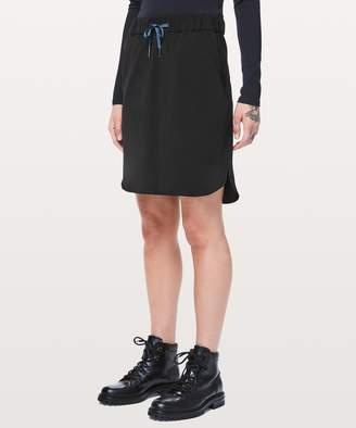 "Lululemon On The Fly Skirt *21"""