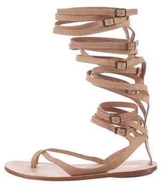 Derek Lam Leather Gladiator Sandals