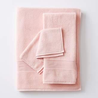 Pottery Barn Teen PBT Classic Organic Towels, Quartz Blush, Hand