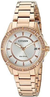 Citizen Drive From Eco-Drive Women's Quartz Stainless Steel Casual Watch