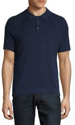 Michael Kors Textured Cotton Polo