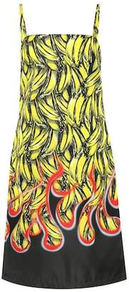 Prada Banana-printed dress