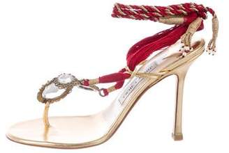 6b05869f150dee Pre-Owned at TheRealReal · Jimmy Choo Embellished Thong Sandals