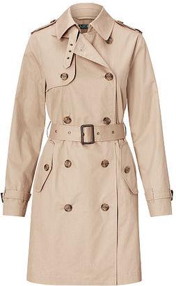 Ralph Lauren Cotton Trench Coat $200 thestylecure.com