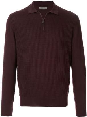 Corneliani waffle-knit jumper