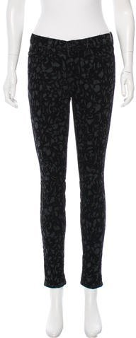 J Brand J Brand Patterned Mid-Rise Pants w/ Tags