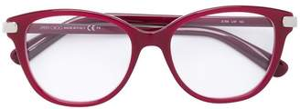 Jimmy Choo Eyewear square frame glasses
