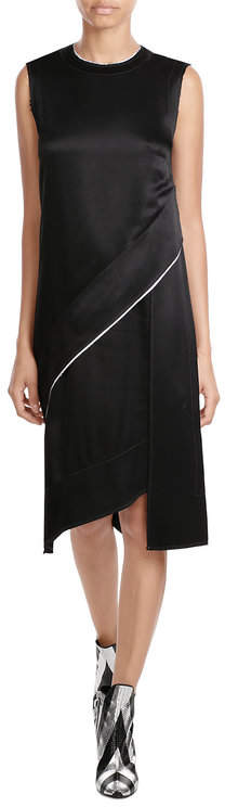 DKNYDKNY Asymmetric Dress with Satin