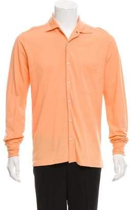 Loro Piana Woven Button-Up Shirt