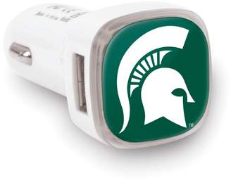 Michigan State Spartans 2-Port Cellphone Car Charger