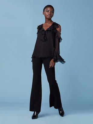 Diane von Furstenberg The Nikisha Silk Top