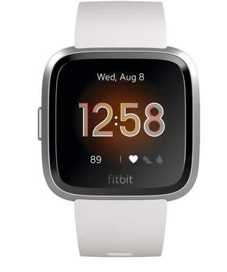 Fitbit Versa Lite Edition Silicone-Strap Smart Watch