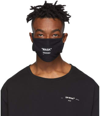 Off-White Off White Black Quote Mask