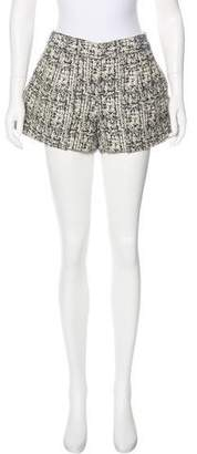 Proenza Schouler Tweed Mini Shorts