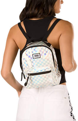 Iridescent Check Mini Backpack