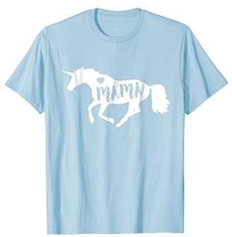 DAY Birger et Mikkelsen Mama Unicorn Horse Equine T-Shirt - Cute Mothers Gift
